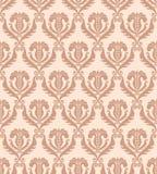 Naadloos damastbehang Royalty-vrije Stock Fotografie