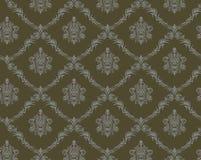 Naadloos damastpatroon Royalty-vrije Stock Afbeelding