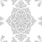 Naadloos damastpatroon Stock Afbeelding