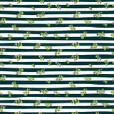 Naadloos de Dagpatroon van waterverfheilige Patrick ` s Het ornament van de klaver Voor ontwerp, druk of achtergrond Royalty-vrije Stock Afbeelding
