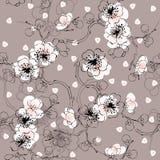 Naadloos de lentepatroon vector illustratie