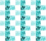 Naadloos de Vleugelssilhouet van de Tegelsvlinder vector illustratie