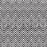 Naadloos de zigzag geometrisch etnisch patroon van de handtekening Royalty-vrije Stock Foto's