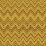 Naadloos de zigzag geometrisch etnisch patroon van de handtekening Stock Fotografie