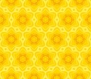 Naadloos decoratief patroon Royalty-vrije Stock Afbeeldingen