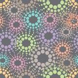 Naadloos Decoratief Patroon Stock Afbeelding