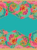 Naadloos decoratief patroon in Arabische stijl Stock Fotografie