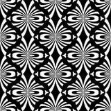 Naadloos Decoratief Patroon Oosters ontwerp Stock Afbeeldingen
