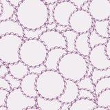Naadloos Decoratief Patroon wijnoogst Oosterse patroon vectorillustratie Stock Afbeelding