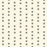 Naadloos Diagonaal Streeppatroon Vector Zwart-wit Geometrische Bedelaars stock illustratie