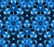 Naadloos die patroon uit kleuren abstracte die elementen wordt samengesteld op witte achtergrond worden gevestigd Stock Afbeelding