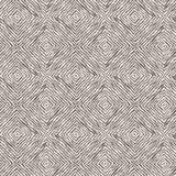 Naadloos die patroon van lijnen door borstel en inkt worden getrokken Stock Afbeeldingen