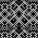 Naadloos Dots Wallpaper Stock Afbeeldingen
