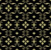Naadloos duur Victoriaans patroon Royalty-vrije Stock Afbeeldingen