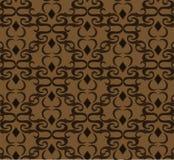 Naadloos duur Victoriaans patroon in retro uitstekende stijl Royalty-vrije Stock Afbeeldingen