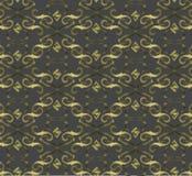Naadloos duur Victoriaans patroon in retro wijnoogst Stock Fotografie