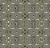 Naadloos duur Victoriaans patroon in retro wijnoogst Royalty-vrije Stock Afbeeldingen
