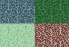 Naadloos Elven-Patroon Royalty-vrije Stock Afbeelding