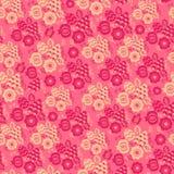 Naadloos etnisch bloemenpatroon Royalty-vrije Stock Afbeelding