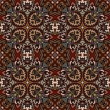 Naadloos etnisch geometrisch oud patroon Stock Afbeeldingen