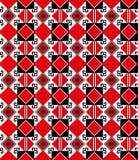 Naadloos etnisch geometrisch patroon Stock Foto's