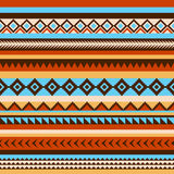 Naadloos etnisch Indisch patroon Royalty-vrije Stock Afbeelding