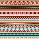 Naadloos etnisch Indisch patroon Stock Foto