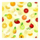 Naadloos fruit Stock Foto