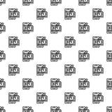 Naadloos geld phishing patroon stock illustratie