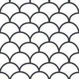 Naadloos geometic patroon Royalty-vrije Stock Foto's
