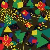 Naadloos geometriapatroon Stock Afbeelding