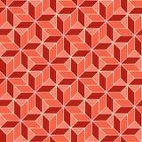 Naadloos geometrisch 3d abstract patroon Stock Fotografie