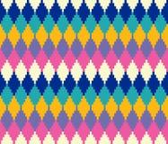 Naadloos geometrisch kleurrijk patroon vector illustratie