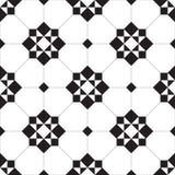 Naadloos Geometrisch Mozaïekpatroon Stock Afbeelding