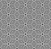 Naadloos geometrisch patroon. royalty-vrije illustratie