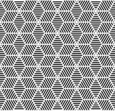 Naadloos geometrisch patroon. Royalty-vrije Stock Afbeelding