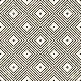 Naadloos geometrisch patroon. Stock Afbeeldingen