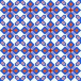 Naadloos geometrisch patroon Stock Afbeeldingen