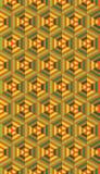Naadloos Geometrisch Patroon Stock Foto