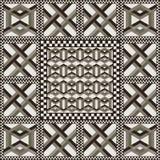 Naadloos geometrisch patroon 58 Stock Foto's