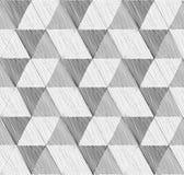 Naadloos Geometrisch Patroon Abstracte vector geweven achtergrond Stock Foto's