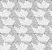 Naadloos Geometrisch Patroon Abstracte vector geweven achtergrond Stock Fotografie