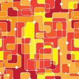Naadloos Geometrisch Patroon Achtergrond voor ontwerp Stock Afbeelding