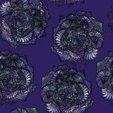 Naadloos geometrisch patroon als achtergrond Royalty-vrije Stock Afbeelding