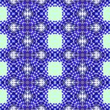 Naadloos geometrisch patroon als achtergrond Stock Afbeeldingen