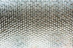 Naadloos geometrisch patroon berijpt glas Sluit omhoog oppervlakte met stock afbeelding