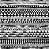 Naadloos Geometrisch Patroon Druk voor uw textiel Etnisch en t stock illustratie
