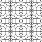 Naadloos Geometrisch Patroon Geometrische eenvoudige druk Vector die textuur herhalen Islamitisch patroon Naadloos patroon voor Stock Afbeeldingen