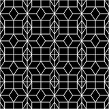 Naadloos Geometrisch Patroon Geometrische eenvoudige druk Vector die textuur herhalen Islamitisch patroon Naadloos patroon voor Royalty-vrije Stock Foto