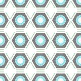 Naadloos Geometrisch Patroon Het kan voor prestaties van het ontwerpwerk noodzakelijk zijn Stock Afbeelding